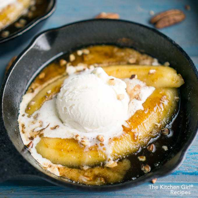 Bananas Foster for Two