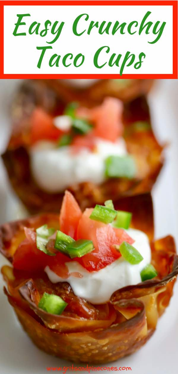 This recipe for Easy Crunchy Taco Cups is the answer to your Cinco de Mayo prayers and Mexican food cravings. Fun, quick, easy to make, and delicious to boot, these versatile, kid-approved, oven-baked taco cups with wontons are made with yummy ground turkey, taco seasonings, and melty cheese. Olé!