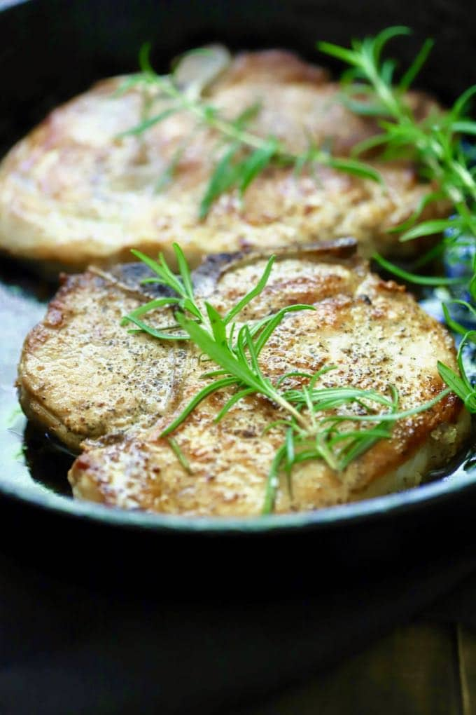 how to make easy baked pork chops