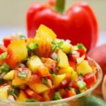 Easy Southern Fresh Peach Salsa Pinterest Pin