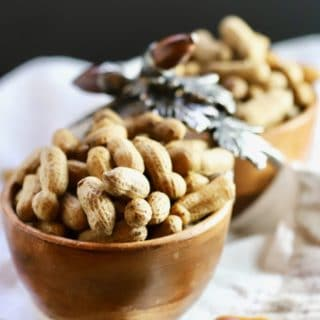 Easy Southern Boiled Peanuts