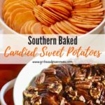 Baked Southern Candied Sweet Potato Pinterest pin