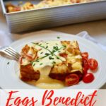 Easy Eggs Benedict Breakfast Casserole Pinterest pin