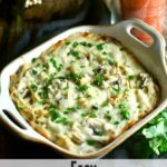 Easy Leftover Turkey Tetrazzini Pinterest pin