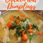 Easy Southern Chicken and Dumplings Pinterest Pin