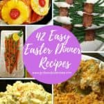 Pinterest pin for roundup of classic Easter recipes.