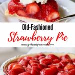 Strawberry Pie Pinterest Pin