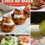 Pinterest pin for Cinco de Mayo recipes.