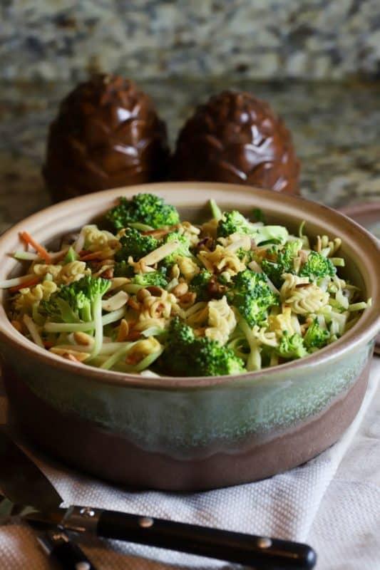 Easy Broccoli Slaw with Ramen Noodles Recipe ...