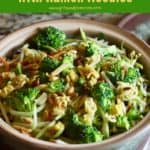 Pinterest pin for Broccoli Slaw.